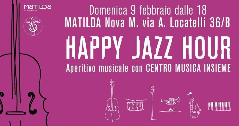 Aperitivo Musicale 9 febbraio 2020 al Matilda!
